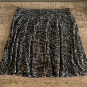 NWOT Forever 21 Grey Marled Mini Skirt, size small